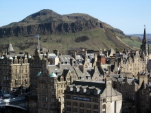 Image from Wikipedia. Arthurs Seat, Edinburgh.