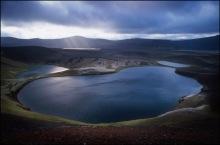 Photograph by Skúli Thor Magnusson. Stunning view of the Veidivötn Lakes.