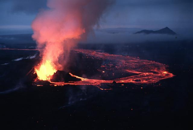 Volcano Room Menu