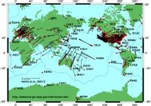 Source: http://en.wikipedia.org/wiki/File:Global_plate_motion_2008-04-17.jpg