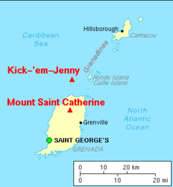 Map from Wikipedia Kick -ém Jenny