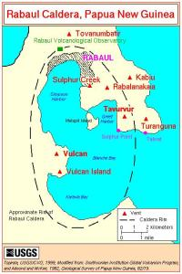 Fig. 6 Map of the Rabaul Caldera (USGS)
