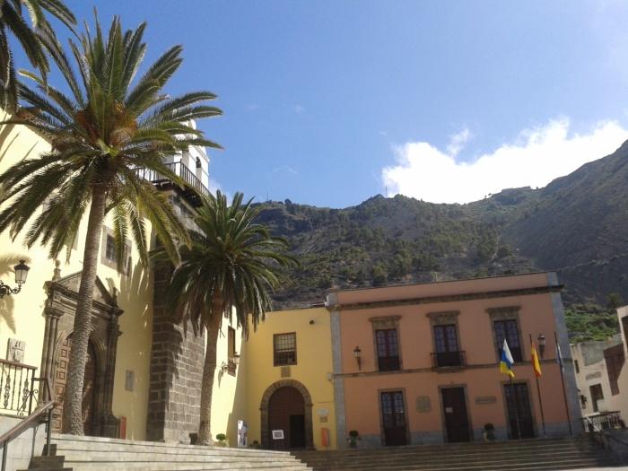 Image by Author, main square Garachico