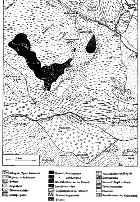 Geologie Pauliberg