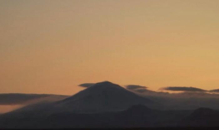 Mila Hekla webcam. Screenoshot taken early morning april 10th. 2013