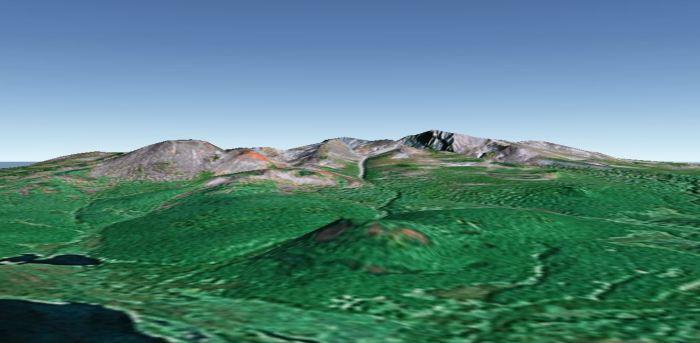 Image 1: Nachikinsky from Google Earth.