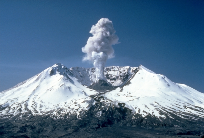 After the eruption! in 1982.