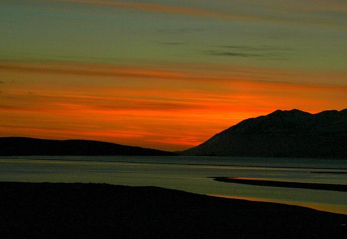 Photograph of Eyjafjarðar by Unnur Elva Hallsdóttir.