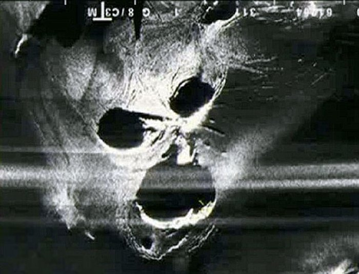 The Demon under the Ice. Eyjafjallajökull 2010 Radar Image.