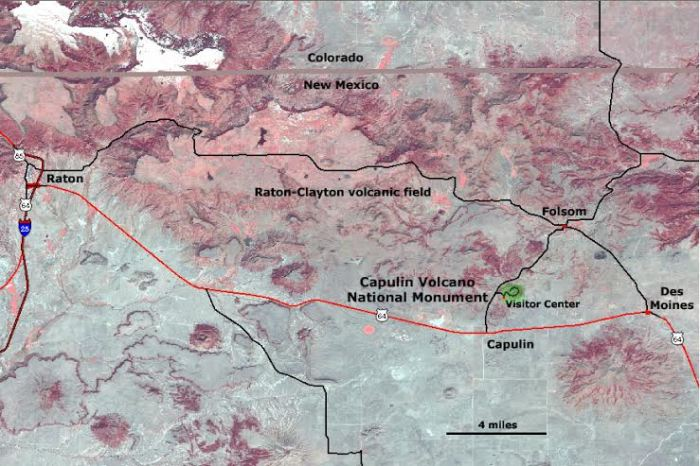 Capulin Volcano National Monument - http://3dparks.wr.usgs.gov/cavo/