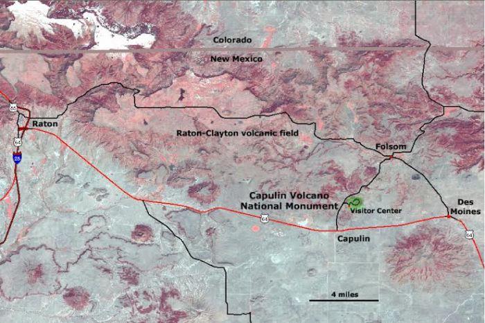 Capulin Volcano National Monument - http://3dparks.wr.usgs.gov/cavo/