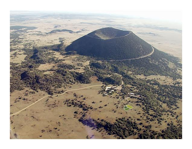 Capulin Volcano and lava flows - http://nmnaturalhistory.org/volc_raton.html