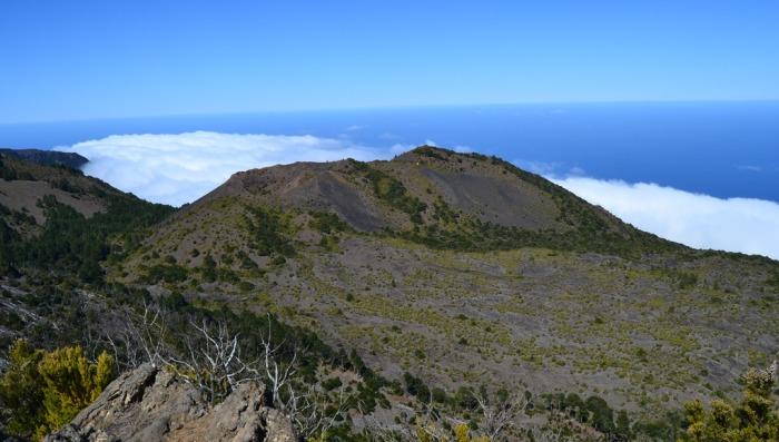 The Tanganasoga central volcano, El Hierro, Canary Islands, Spain.