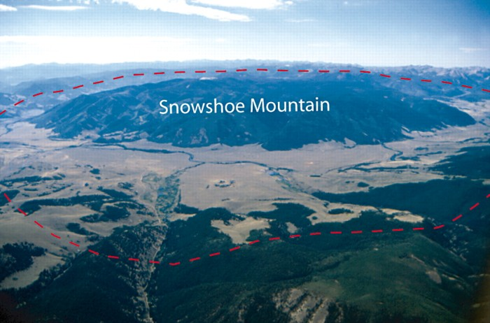 Snowshoe Mountain (resurgent dome) within Creede Caldera, Colorado (image behind paywall) http://elements.geoscienceworld.org/cgi/content-nw/full/4/1/17/FIG4