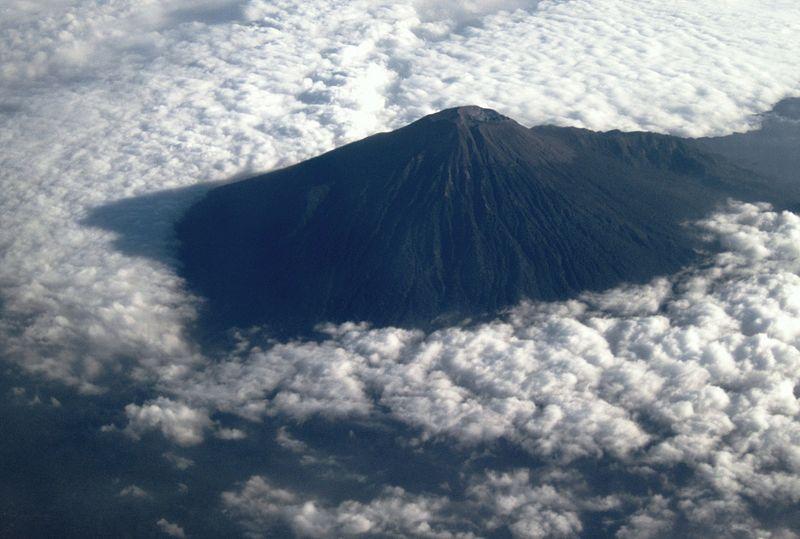 gunung slamet mount slamet volcanocafe