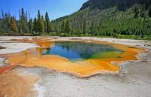 Yellowstone caldera.
