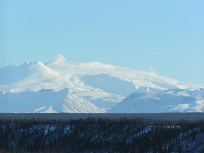 Wrangell Volcano --  http://www.avo.alaska.edu/volcanoes/volcinfo.php?volcname=Wrangell