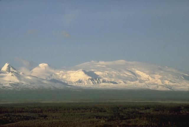 Wrangell Volcano --  http://www.volcano.si.edu/volcano.cfm?vn=315020