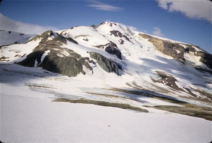 Snowy Mountain.  Photo courtesy AVO/USGS, Judy Fierstein, http://www.avo.alaska.edu/images/image.php?id=16218
