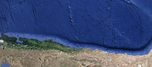 Chile trench. Image by google.