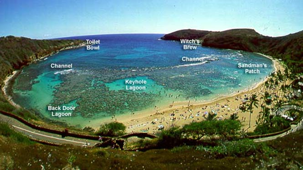 The volcanic landmarks of oahu hawaii the conclusion for Fish bowl maui