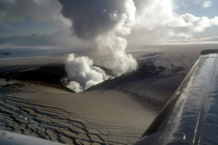 Image from the 1996 Gjálp eruption.