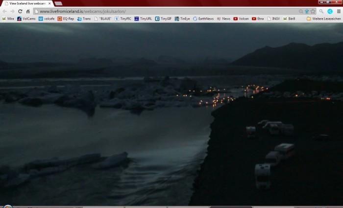 Screenshot from the Mila webcam