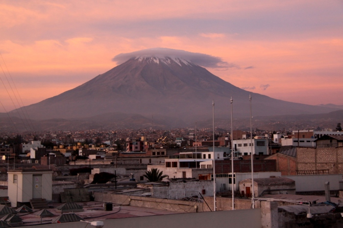 Misti and Arequipa