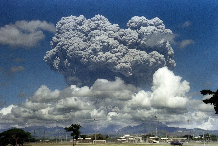 Pinatubo's eruption in 1991, the second largest eruption of the twentieth century.