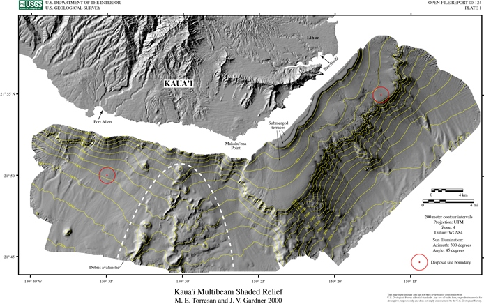 Southern Flank Collapse Map