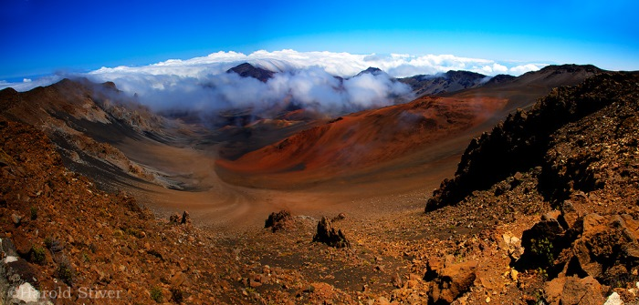 Panorama of Haleakala Crater