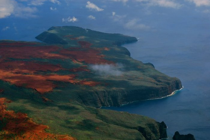Airborne View of Kahoolawe