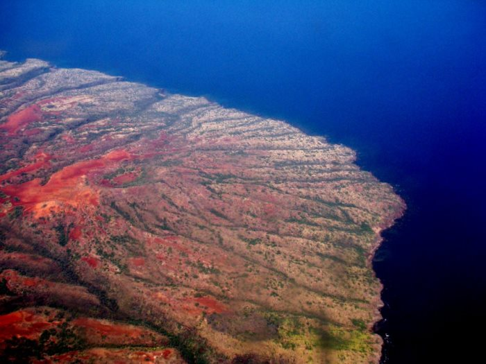 Downwind Denuded Portion of Kahoolawe