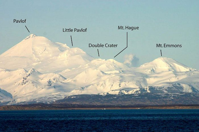 Pavlof Volcano and Neighboring Lake Emmons Volcanic Complex Group
