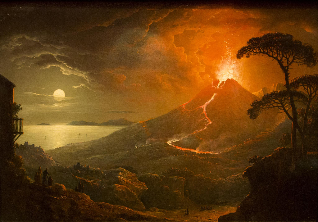 Paintings Of Vesuvius  S