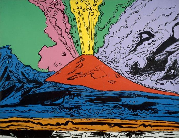 Vesuvius. Andy Warhol. 1985.