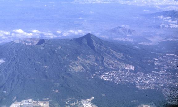 San Salvador Volcanic Complex and San Salvador city - http://www.geo.mtu.edu/volcanoes/central_america/el_salvador/san_salvador/
