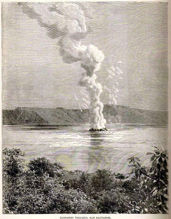 Ilopango Iles Quemadas Eruption of 1880 - http://www.fundar.org.sv/Noticias/e_noticias_fundar_otras.html
