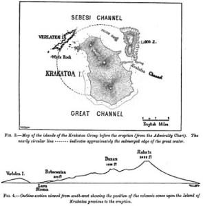 [ Krakatau Island, pre-eruption ]