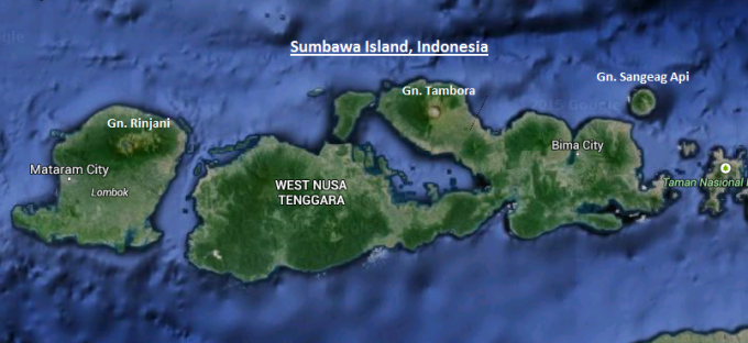 Fig 2 Sumbawa island