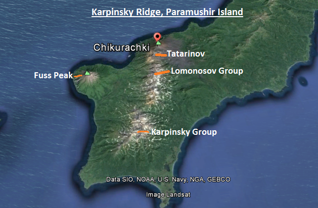 Fig 3 Karpinsky Ridge