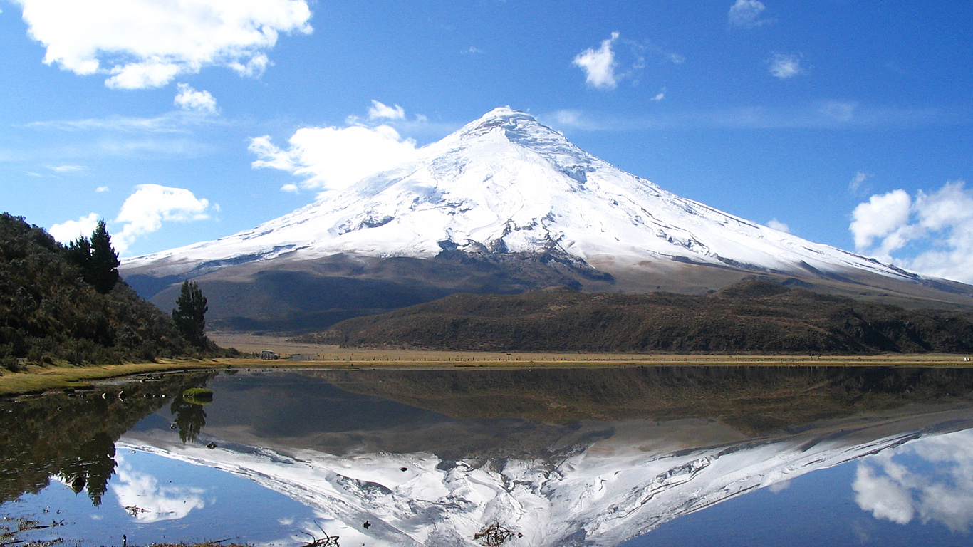 Cotopaxi a most dangerous volcano volcanocaf the ice covered volcano basking in the sun prior to the current unrest ccuart Gallery